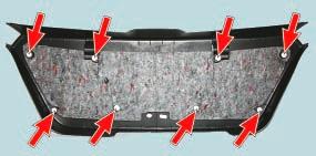 Снятие и установка обивки двери задка Опель Астра Н