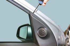 Снятие и установка обивки передней двери Опель Астра Н