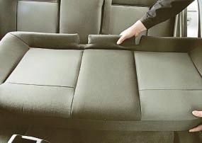 Снятие и установка заднего сиденья Опель Астра Н