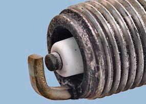 Диагностика состояния двигателя по внешнему виду свечей зажигания Опель Астра Н