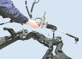 Замена рулевого механизма Опель Астра Н