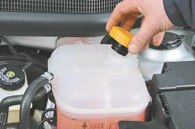 Замена охлаждающей жидкости Опель Астра Н