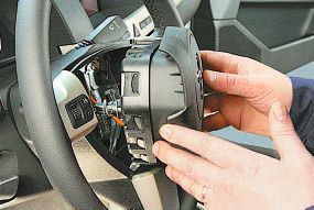 Снятие и установка подушки безопасности водителя Опель Астра Н