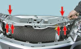 Снятие и установка воздушного фильтра и воздуховода Опель Астра Н