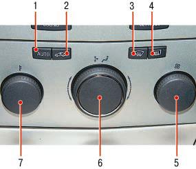 Система вентиляции, отопления и кондиционирования Опель Астра Н
