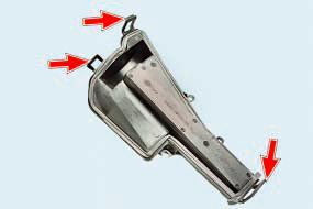 Замена фильтра очистки поступающего в салон воздуха Опель Астра Н