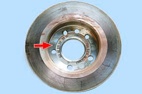 Замена тормозного диска тормозного механизма заднего колеса Опель Астра Н